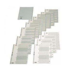 Bantex Dividers A4 Pp Maxi A-Z Grey 6223