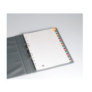 Avery Dividers A4 Mylar Printed Fluoro Tab A-Z