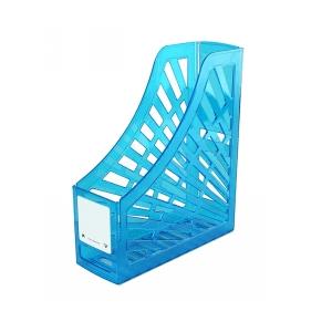Italplast Magazine Stand Neon Blue