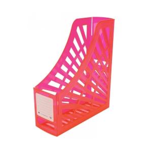 Italplast Magazine Stand Neon Red