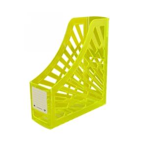 Italplast Magazine Stand Neon Yellow