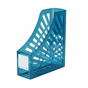 Italplast Magazine Stand Tinted Blue