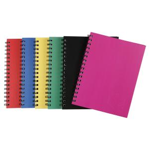 Spirax 511 Hard Cover Notebook A5 225 X 175mm Assorted Color 200 Page