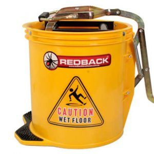 Redback Yellow Wringer Mop Bucket