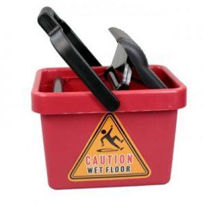 Redback 9 Litre Wringer Mop Bucket