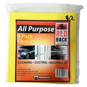 Redback All Purpose Clean Up Cloth 2 Pack