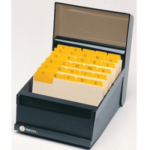 "Marbig 40066F Manilla Guide Cards With Plastic Tabs A-Z/1-31, 150 X 102Mm (6"" X 4"") - Buff/Yellow"