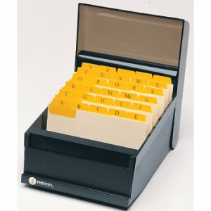 """Marbig 40068F Manilla Guide Cards With Plastic Tabs A-Z/1-31, 203 X 127Mm (8"""" X 5"""") - Buff/Yellow"""