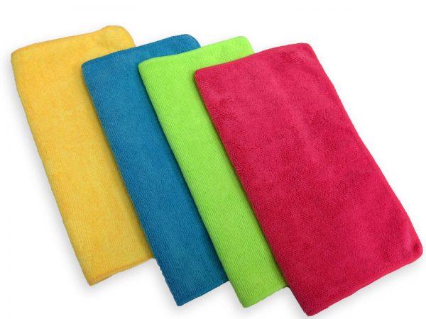 Redback Microfibre Cloths 4 Pack