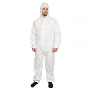 High Calibre Advanced Micro-Porous Disposable Coveralls Type 5-6