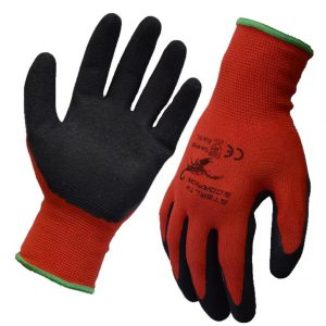 Stealth Scorpion Latex Industrial Work Gloves