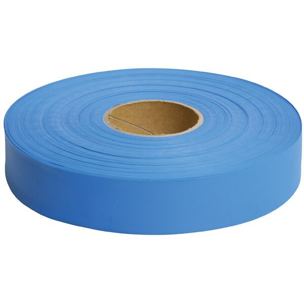 Maxisafe Blue Flagging Tape, 25mm x 100m Roll