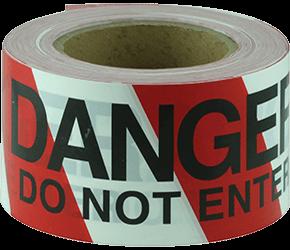Maxisafe DANGER DO NOT ENTER black on red/white