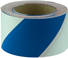 Maxisafe Blue and White barricade tape