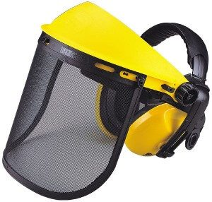 Maxisafe Mesh Visor with Earmuffs complete