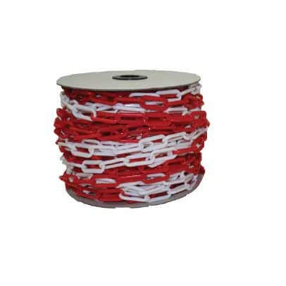 Maxisafe 6mm Red & White Safety Chain