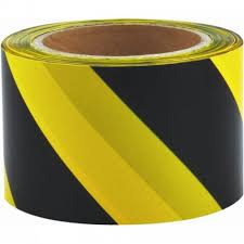Maxisafe Yellow & black barricade tape