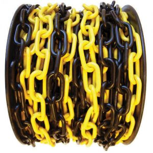 Maxisafe 6mm Black & Yellow Safety Chain