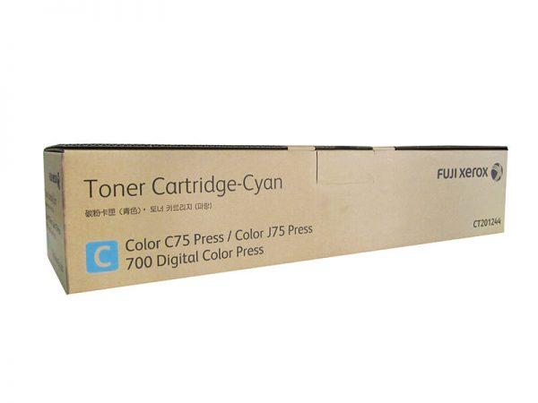 Genuine Fuji Xerox CT201244 Cyan Toner Cartridge