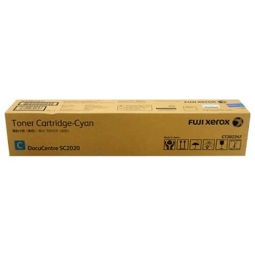 Genuine Fuji Xerox CT202397 Cyan Toner Cartridge