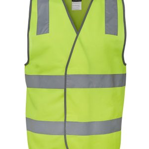 Hi Vis Orange Reflective Safety Vest 6DNSV