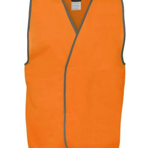 Hi Vis Orange Safety Vest 6HVSV