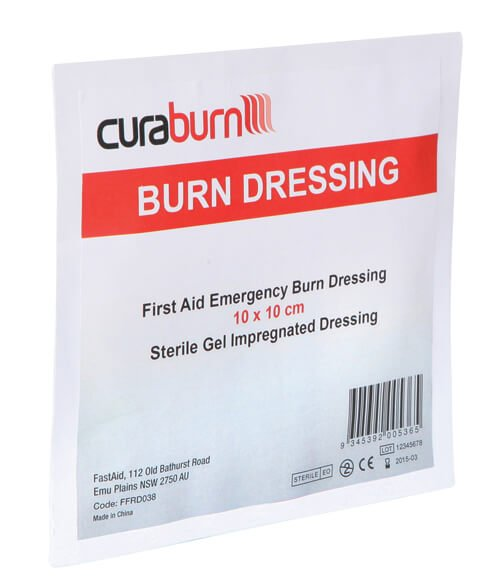 Fastaid Hydrogel Burns Dressing 10 x 10cm