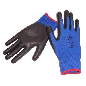 Stealth Blue Heeler PU Palm Glove