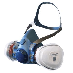 Maxiguard Silicone Half Face Respirator Kit
