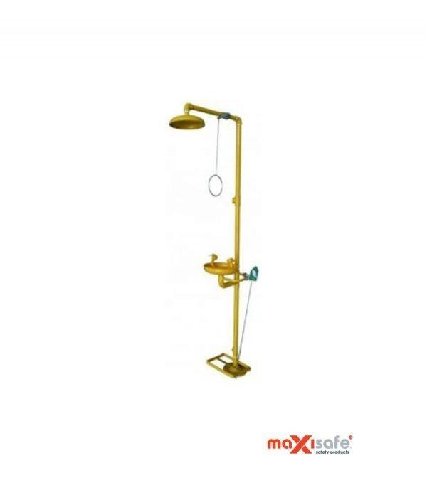 Floor Mounted Combo Unit – Drench Shower & Eyewash
