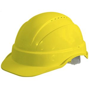 Maxiguard Vented Hard Hat Helmet With Sliplock Harness