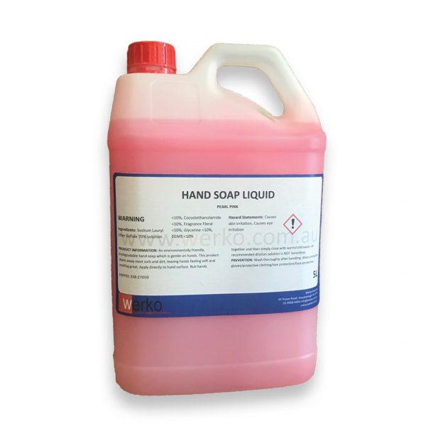 Pink Hand Soap 5 Litres - Werko