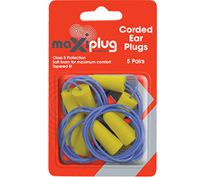 MaxiPlug Corded Blister Pack HEC670
