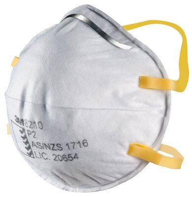 Product 3M 8210 Face Mask Respirators P2 Rating 20 Pack 2 Werko