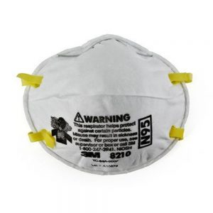 3M 8210 Face Mask Respirators P2 Rating 20 Pack