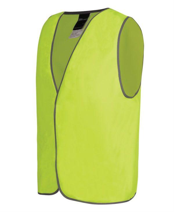 Hi Vis Yellow Visitor Safety Vest 6HVS
