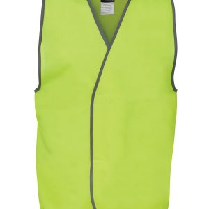 Hi Vis Yellow Safety Vest 6HVSV