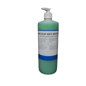 Anti-Bacterial Green Liquid Hand Soap 1 Litre