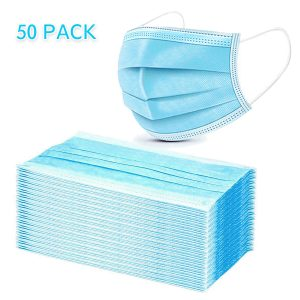 General Face Mask Anti Fog 50 Pack With Earloops