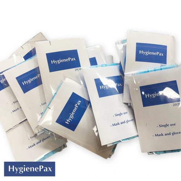 HygienePax Mask and Glove Visitor Kit