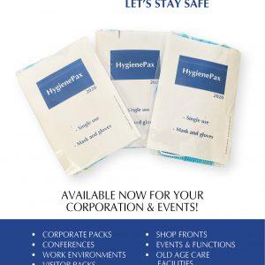 HygienePax Mask and Glove Visitor Kit