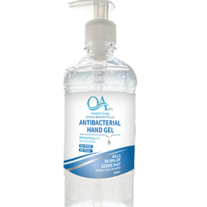 Antibacterial Hand Gel Sanitiser 500ml 70% Alcohol