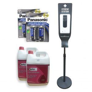 Automatic Hand Sanitiser Dispenser With Stand Starter Kit