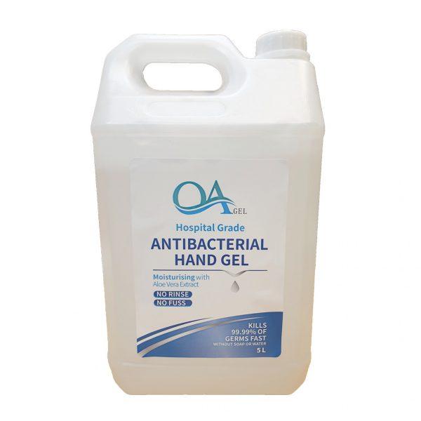 antibacterial hand gel 5L