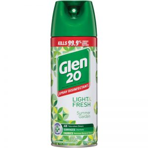 Glen 20 Disinfectant Spray Summer Garden 300g