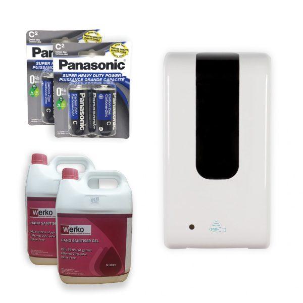 Automatic Hand Sanitiser Dispenser Starter Kit
