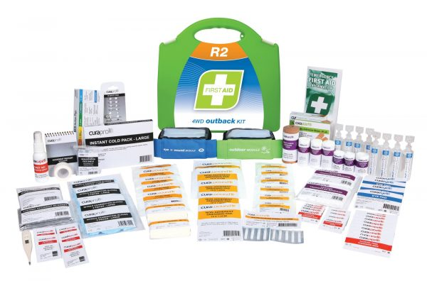 Product R2 4WD Outback First Aid Kit, Plastic Portable 1 Werko